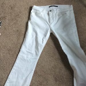 White jeans fairly new